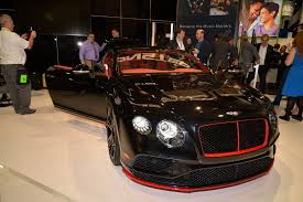 customized bentley monster bentley continental gt shows off 3 400 watt system at ces
