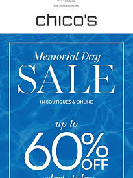 chicos sale summer dreaming shop our memorial day sale chico s email
