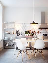 cuisine nordique exemple decoration cuisine nordique