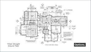 straight floor plan titoki straight floor plans ground build7 new zealand