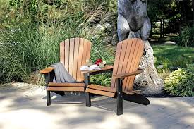 outdoor wood and polywood settees from dutchcrafters amish