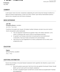 template of a resume innovation template resume 2 free templates cv resume ideas