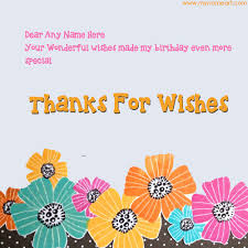 Wedding Wishes Ringtone Write Name In Thank You Message Card Pictures Wishes Greeting Card
