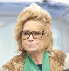 felicity kendal hairstyle felicity kendal battles the wild elements in london daily mail