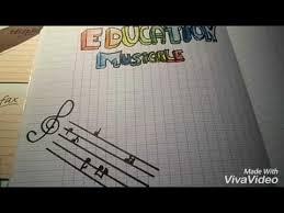 Page de garde de musique partie 3  YouTube