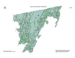 New York Map Districts by City Council Districts City Of Yonkers Ny