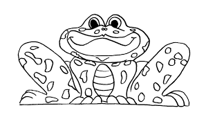 frog coloring word tracing free poison dart frog