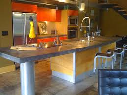 industrial kitchen islands kitchen with complex granite counters by joab zillow digs