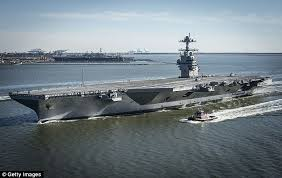 uss gerald r ford first to have gender neutral bathrooms daily