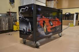Tool Cabinet With Wheels Fantastic Custom Garage Tool Cabinets With Classic Ferrari