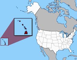 us map states hawaii usa map hawaii located hawaii 50th state union united states