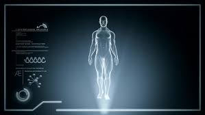Picture Of Human Anatomy Body Futuristic Interface Display Of Full Body Scan With Human Anatomy