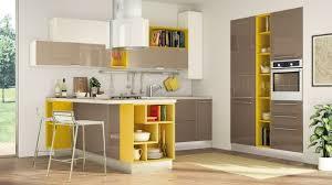 cuisine avec etagere idée relooking cuisine modèle de placard avec four et mobilier de