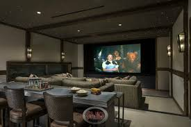 room modern media room home decor color trends top on modern