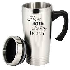 travel coffee mugs images Custom engraved personalised stainless steel travel mug coffee cup jpg