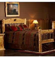 log beds king queen full and twin bunk log beds