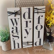 laundry room decor signs set of 3 rustic pallet signs wood zoom