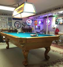 pool table l shade replacement windy city pooltable service all used tables are cleaned and sanitized