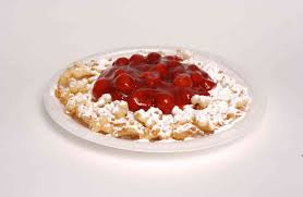 types of funnel cake toppings