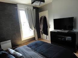 chambre gris noir chambre a coucher gris et noir photos de design d intérieur et