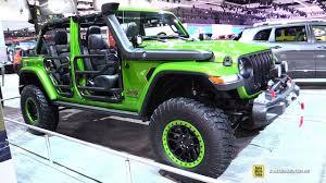 modified jeep 2017 2018 jeep wrangler rubicon mopar modified walkaround 2017 la