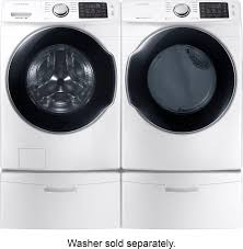 samsung 7 5 cu ft 10 cycle electric dryer with steam white