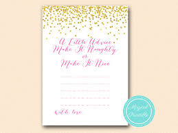 bridal advice cards advice for the to be make it or by magicalprintable