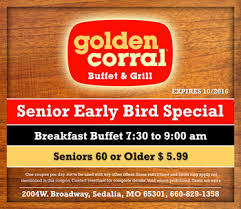 Buffet Golden Corral by Deal Makers Corner Consulting Advertising And Insurance