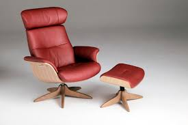 timeout swivel reclining chair ottoman with large in wood