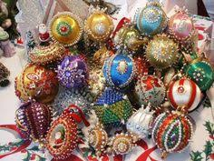 sequin ornaments by q is for quilter beaded ornaments