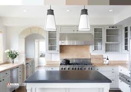 grey kitchen countertops with white cabinets best colors for kitchen with white cabinets