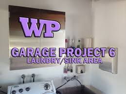 Utility Sinks For Laundry Room by Garage Project 6 Laundry Sink Area Youtube