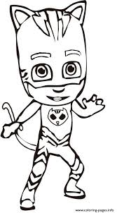 pj masks ready coloring pages printable