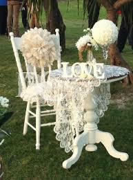 Vintage Wedding Chair Sashes Rustic Wedding Decor Hire Dccreations Com Au