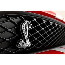 mustang grill emblems ford 7r3z 16098 a mustang grille emblem cobra snake gt500 2007 2014