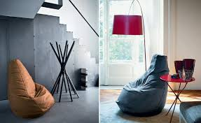 hive modern zanotta bean bag chair cool sacco easy in leather hivemodern kiraahn