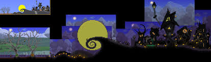 background for halloween village pc builds by khaios terraria community forums