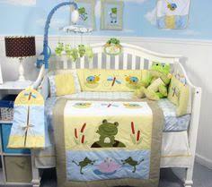 Frog Baby Bedding Crib Sets Soho Froggies Baby Crib Nursery Bedding Set 13 Pcs Included