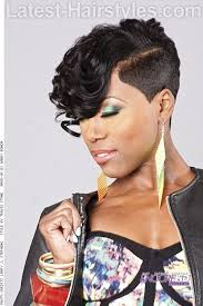 wedge one side longer hair image result for natural ebony hairstyles with tracks and short