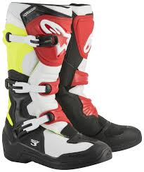 red dirt bike boots alpinestars tech 3 boots cycle gear