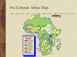 africa map before colonization the colonization of africa ppt