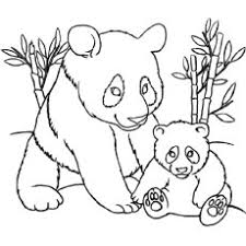 25 free printable cute panda bear coloring pages