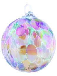 023l glass eye studio ornament blush orchid glass eye studio