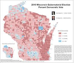Wisconsin Lakes Map by Wisconsin Election Maps And Results University Of Wisconsin Eau