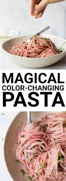 light olive oil pasta sauce magical color changing pasta with lemon garlic olive oil sauce