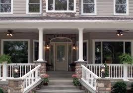 round porch columns fiberglass curb appeal products 3 pillars