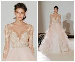 blush wedding dress trend blush wedding dress trend 6870