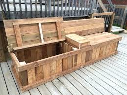 balcony storage bench deck storage bench design with dual