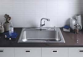 sterling kitchen sinks sterling southhaven top mount 33 stainless steel single bowl