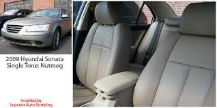 seat covers for hyundai sonata hyundai sonata gl gls se katzkin leather seat upholstery 2006